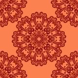 Abstract circular seamless pattern Stock Image