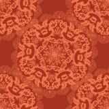 Abstract circular seamless pattern Stock Photos