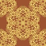 Abstract circular seamless pattern Royalty Free Stock Photos