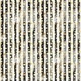 Abstract cirkels en strepen naadloos patroon Royalty-vrije Stock Afbeelding