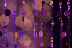 Abstract cirles of lights and colours Royalty Free Stock Image