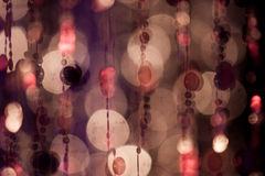 Abstract cirles of lights and colours Royalty Free Stock Photos