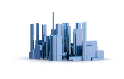 Abstract  city Royalty Free Stock Photography