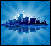 Abstract city background Stock Image