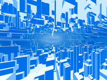 Abstract city background #2 Royalty Free Stock Photos