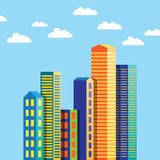 Abstract City Building Royalty Free Stock Images