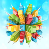 Abstract city Royalty Free Stock Image