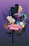 Abstract city  illustration Stock Photos