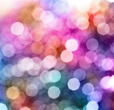 Abstract city lights blur blinking background. royalty free stock photos