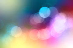 Abstract city lights blur blinking background. Soft focus royalty free stock image