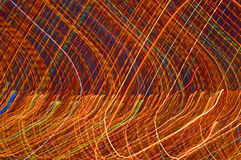 Abstract city lights Stock Photos