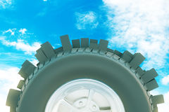 Abstract city tire Stock Photography