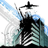 Abstract city vector stock illustration