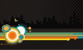 abstract city vector απεικόνιση αποθεμάτων