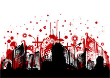 Abstract city vector Stock Photos