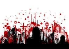 Abstract city vector Stock Photos
