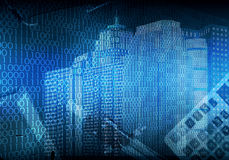 Abstract cityscape background Stock Images