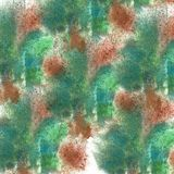 abstract Claret, green isolated watercolor stain raster illustra royalty free stock photo