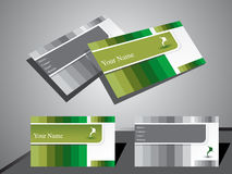 Abstract classic business card Stock Photography