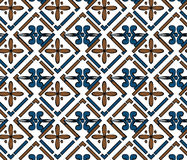 Abstract classic ornament pattern Stock Images