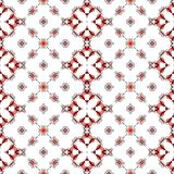 Abstract clean white texture or background with modern red pattern made seamless Royalty Free Stock Photo