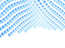 Abstract clear blocks Stock Photo