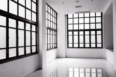 Abstract Clear Bright Windows Royalty Free Stock Photo