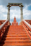Abstract Climb Temple Royalty Free Stock Photos