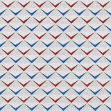 Abstract clippings - seamless background - red-blue USA Colors Royalty Free Stock Image