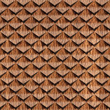 Abstract clippings stacked for seamless background. Cork veneer Royalty Free Stock Photo