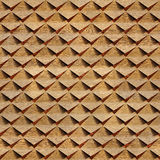 Abstract clippings stacked for seamless background. Walnut veneer Stock Image