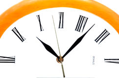 Abstract clock Royalty Free Stock Photos