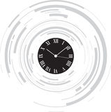 Abstract clock Stock Photography