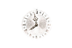 Abstract Clock Background Royalty Free Stock Photo