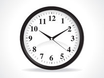 Abstract clock icon Stock Photo