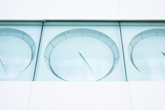 Abstract clock image Royalty Free Stock Photography