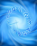 Abstract Clock Time Background royalty free illustration