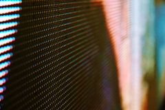 Abstract Close up Bright colored LED SMD video wall abstract background royalty free stock images