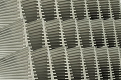 Abstract Close Up Of Heat Sinks Stock Photo