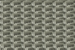 Abstract Close Up Of Heat Sinks Royalty Free Stock Photography