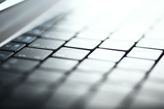 Abstract close-up laptop Royalty Free Stock Image
