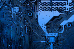 Free Abstract Close Up Of Electronic Circuits In Technology On Mainboard Computer Background Stock Photo - 93686620