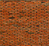 Abstract close-up red brick wall background Royalty Free Stock Images