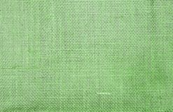 Abstract closeup green hessian texture background. Blank green hessian pattern background royalty free stock photos