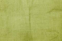 Abstract closeup green hessian texture background stock photos