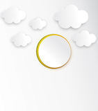 Abstract Cloud  Royalty Free Stock Photos