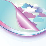 Abstract Cloud Background Royalty Free Stock Photos