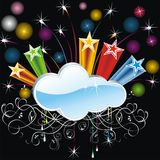 Abstract Cloud Background Royalty Free Stock Photography