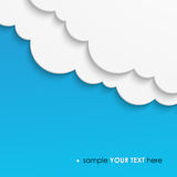 Abstract cloud background Royalty Free Stock Image