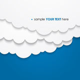 Abstract cloud background Stock Photography